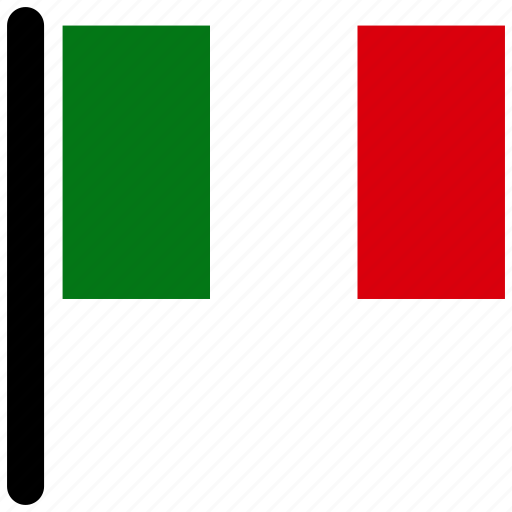 country, flag, flags, italy, national icon