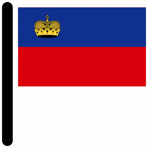 country, flag, flags, liechtenstein, national icon