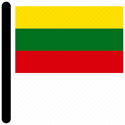 flag, flags, lithuania, national, world icon