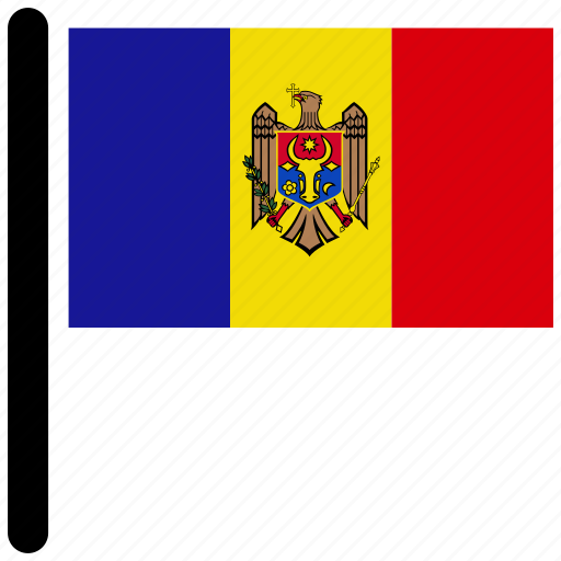 country, flag, flags, moldova, national icon