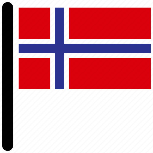 country, flag, flags, national, norway icon