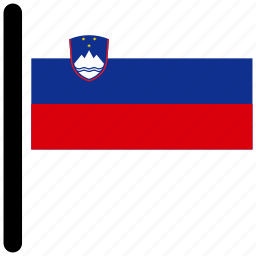country, flag, flags, national, slovenia icon
