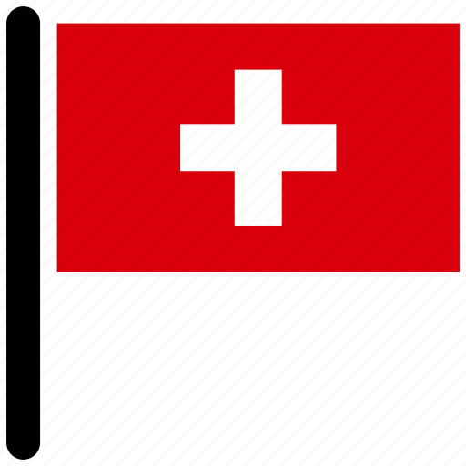 country, flag, flags, national, switzerland, world icon