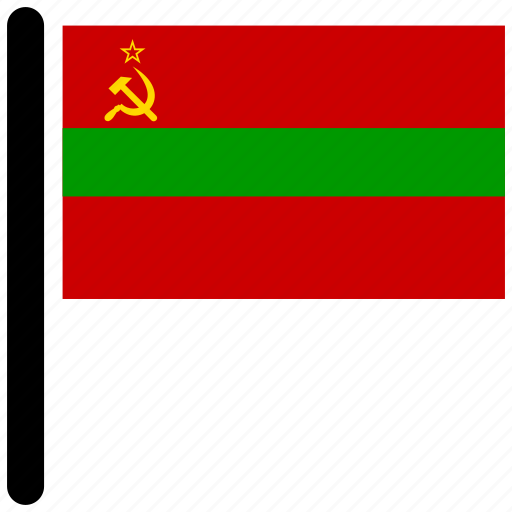 country, flag, flags, national, transnistria icon