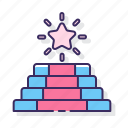 achievement, award, ceremony, star