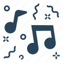 celebration, event, music, music event, party, streamers icon