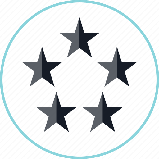 five, special, stars, video icon