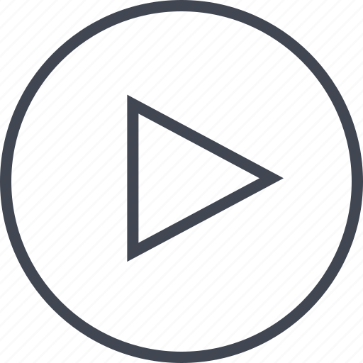 now, play, triangle, youtube icon
