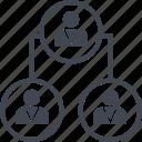 connect, data, seo, three