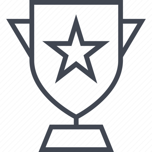 award, favorite, gold, star, trophy icon