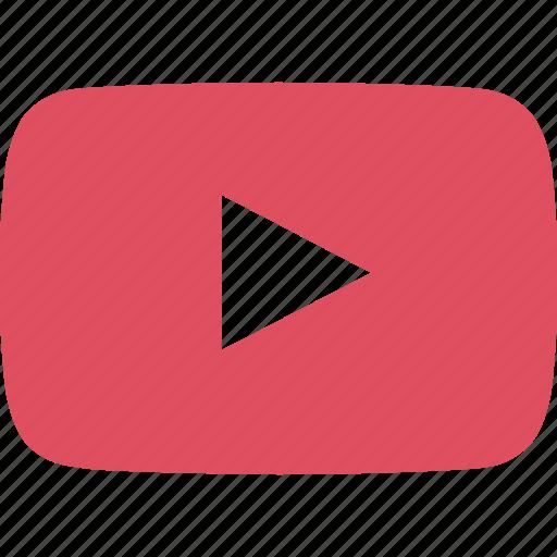 experience, nav, navigation, user, youtube icon