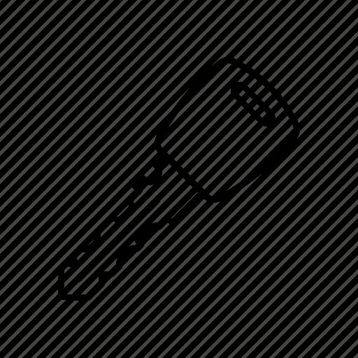 car, car key, key, key for car icon