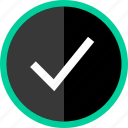 approved, checkmark, good, ok icon