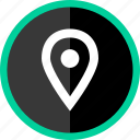 gps, locate, location, navigate, pin icon