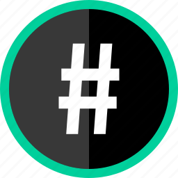 hastag, sign, tag, twitter icon