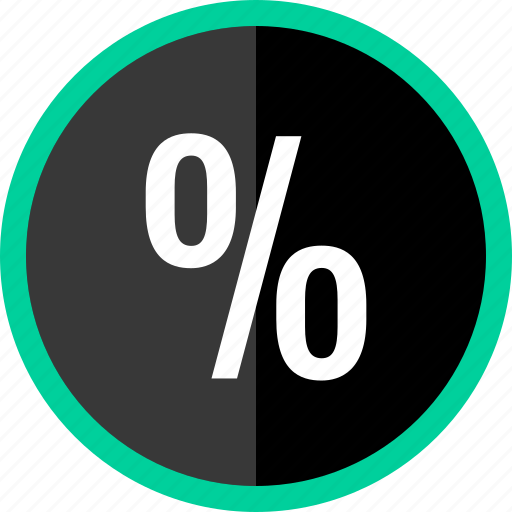 interest, math, percent, rate, revenue icon