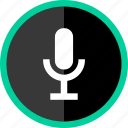 audio, microphone, music, record icon