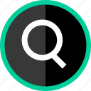 find, locate, look, search icon