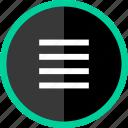 lines, menu, options, setup