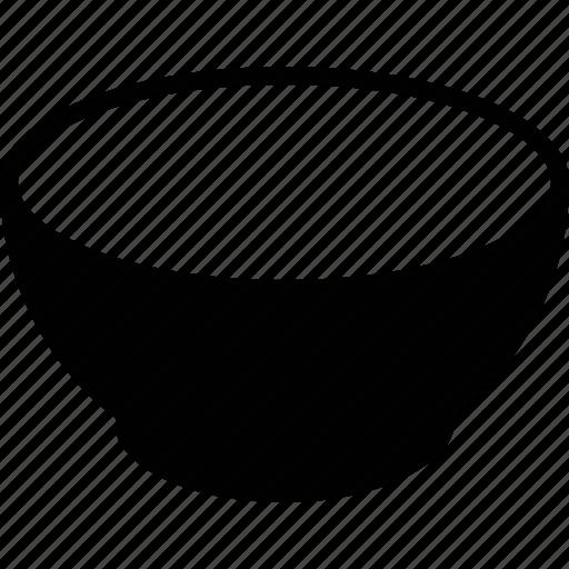 bowl, ceramic, container, dish, dishware, food icon