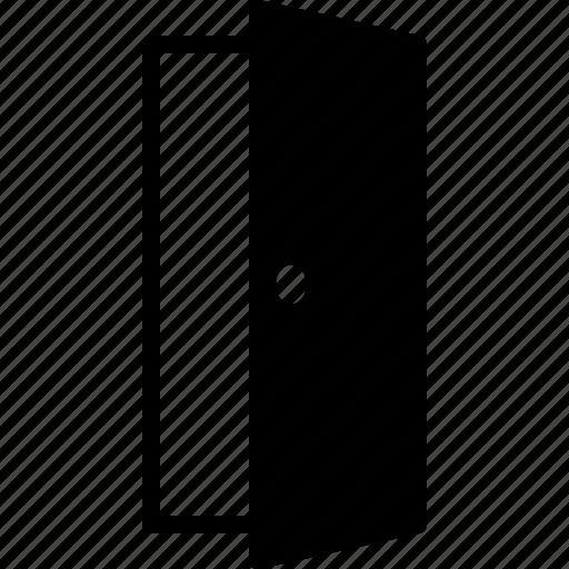 door, doorway, entrance, entry, exit, open icon