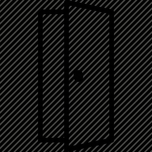 Door, doorway, entrance, entry, exit, open icon - Download on Iconfinder