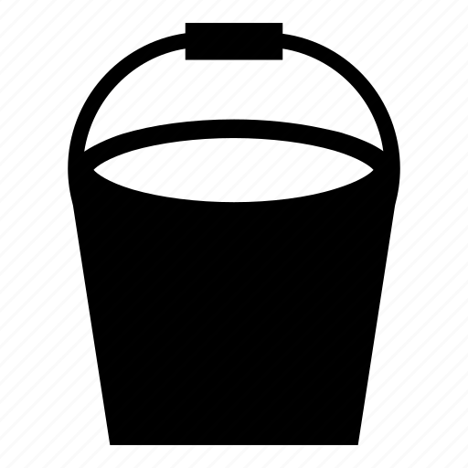 bucket, color, design, fill, hink, paint, water icon