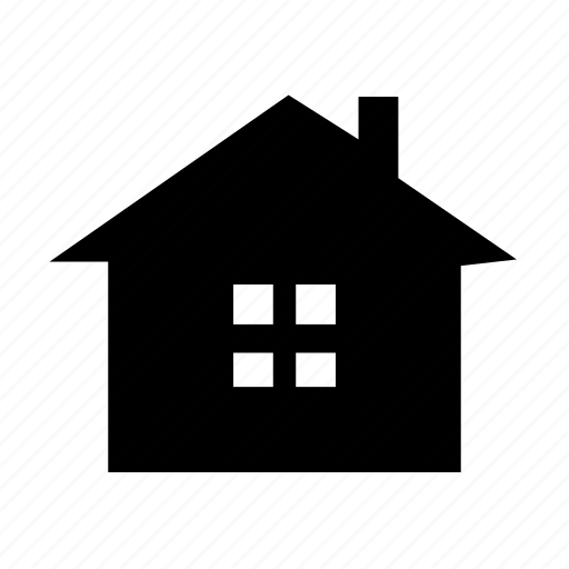 building, cabin, cottage, estate, home, house, real icon