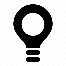 bulb, find, idea, lamp, light, lightbulb, search icon
