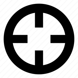 aim, bullseye, exact, goal, hunt, target, targeting icon