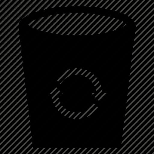 bin, delete, erase, garbage, recycle, remove, trashcan icon