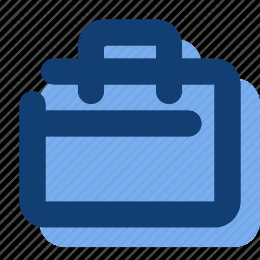 briefcase, suitcase, work icon