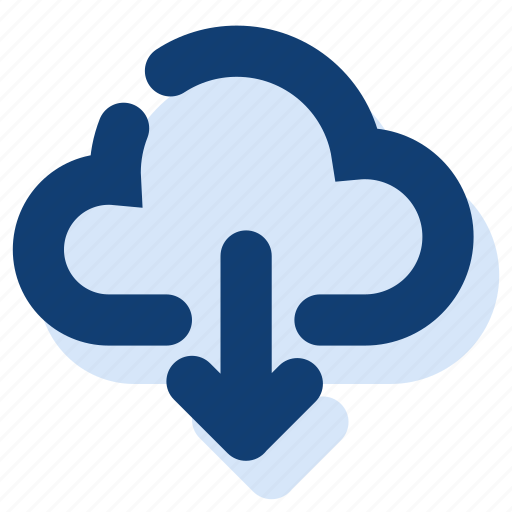 cloud, cloud download, download icon