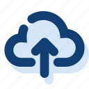 cloud, cloud upload, save, upload icon