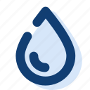 drop, eco, nature, water, weather icon