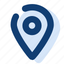 destination, location, map, mark, pin icon