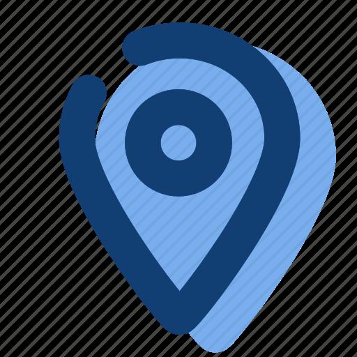 destination, location, map, mark, pin icon