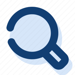 look up, magnifying glass, search icon