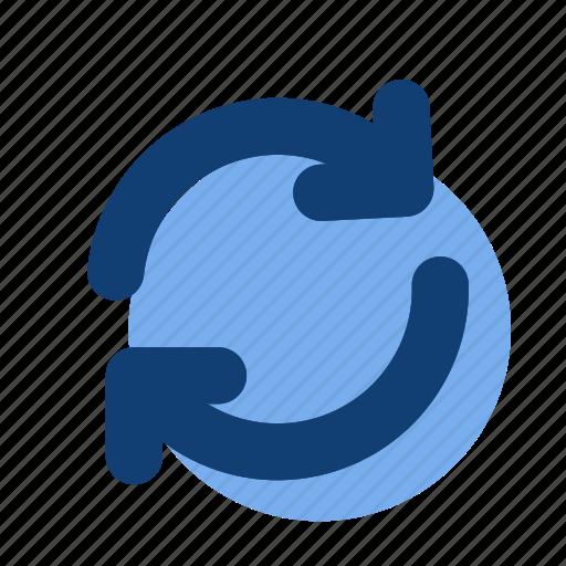 redo, refresh, update icon