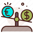 balance, bank, finance, fiscal, money, payment icon