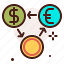 bank, comparison, finance, fiscal, money, payment icon