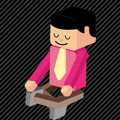 man sitting, nirvana, peace, relax, sit, sitting, yoga icon