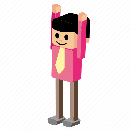 exercise, exercise man, hands up, man, movement, standing, warm up icon