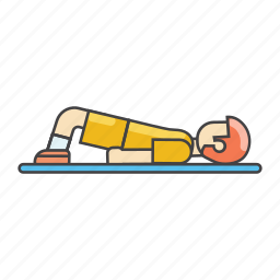 aerobics, athlete, exercises, fitness, gym, man exercising icon