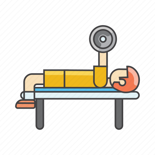 aerobics, dumbbells, exercises, fitness, gym, health, workout icon