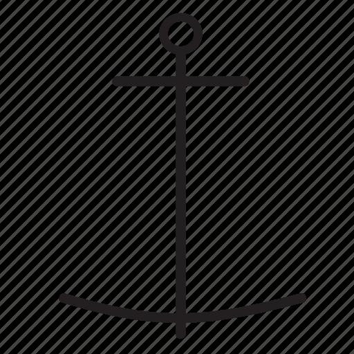 anchor, link, nautical, url icon