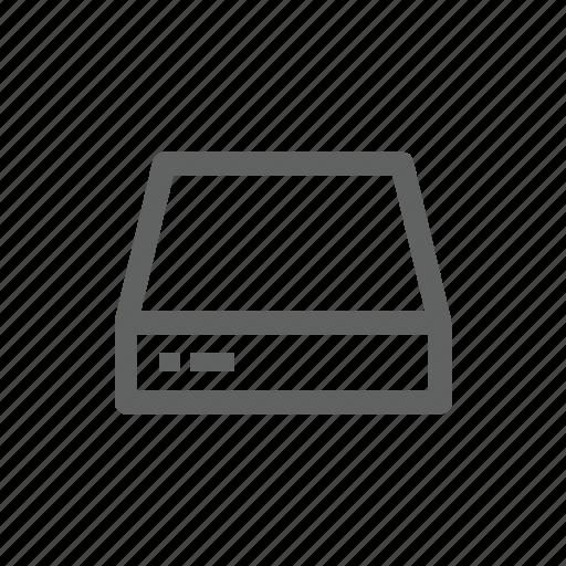 computer, drive, external drive, hardware, server, technology icon