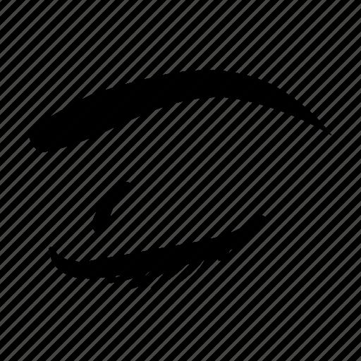eye, girl eye, sight, vision icon