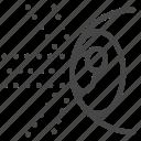 amsler, eye, optic, optical, reflect icon