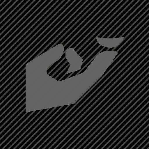 eye, finger, fingers, hand, holding, lens icon